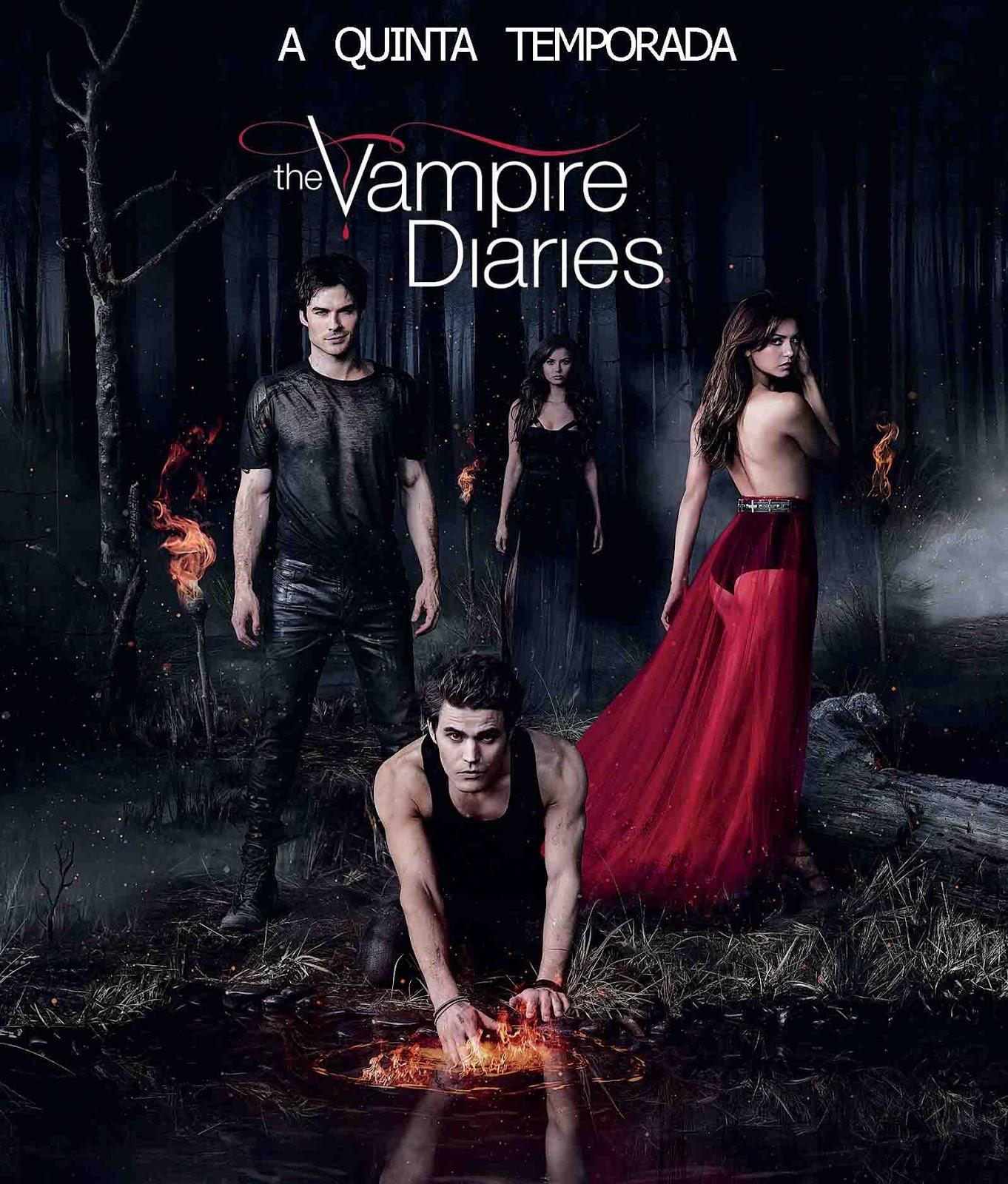 Diários de Um Vampiro 5ª Temporada Torrent - BluRay 720p Dual Áudio