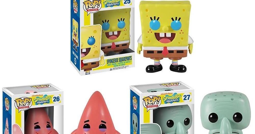 The Blot Says Spongebob Squarepants Pop Vinyl Figures