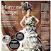 Trashion newspaper bride