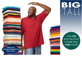 Big and Tall Apparel