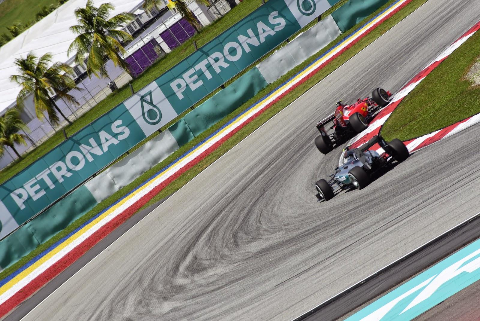 Motorsport Nico Rosberg, in Malaysia