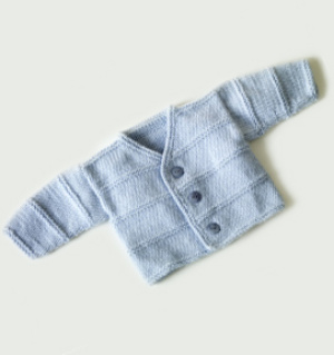 Easy Child Cabled Cardigan Knitting Pattern | Momogus Knits