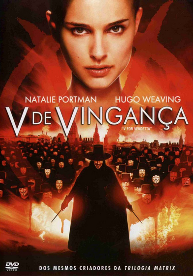 Filme V de Vingana Dublado AVI DVDRip