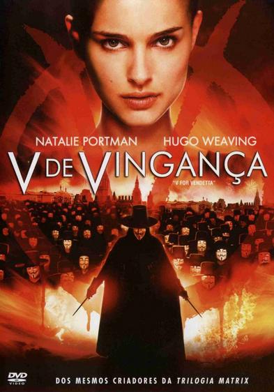 Filme V de Vingança Dublado AVI DVDRip