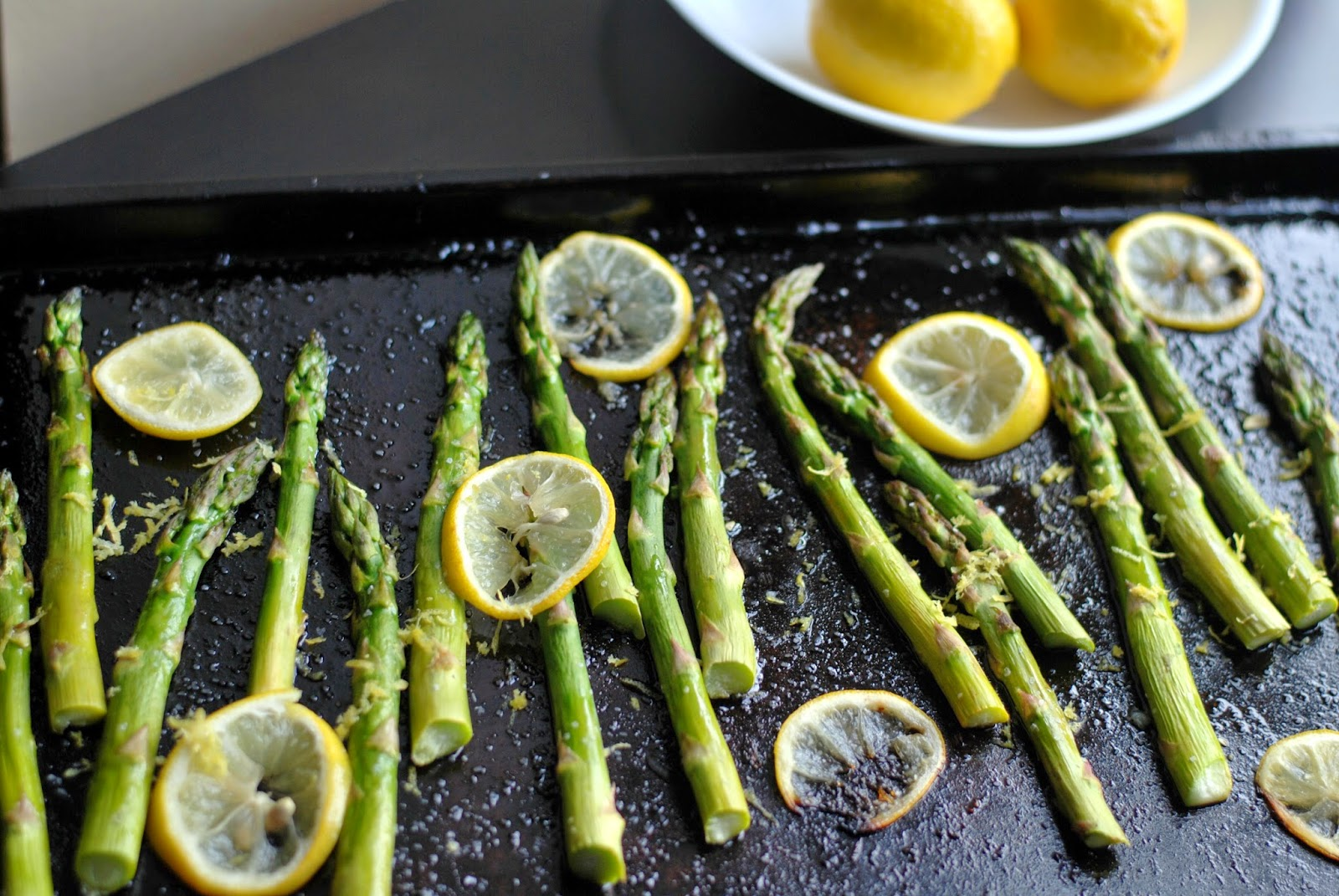 Roasted Asparagus with Lemon | Aunt Bee's Recipes