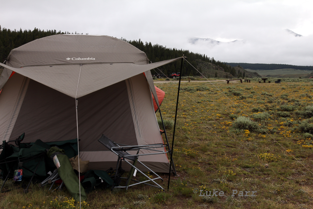 Columbia Cougar Flats II tent at Taylor Reservoir & Rocky Mountain Adventure: Columbia Cougar Flats II Tent Review
