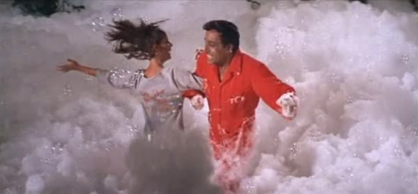 Here we see Claudine Longet and Peter Sellers inventing the first of those nightclubs where clubbers and ravers dance around in Mr. Bubble soap.