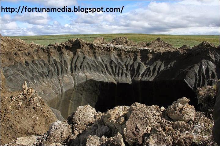 Misteri Penyebab Lubang Raksasa Siberia Akhirnya Terkuak