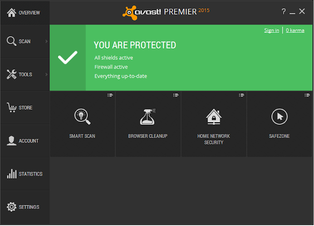 Avast Premier 2015 v10.0.2206 Full Version