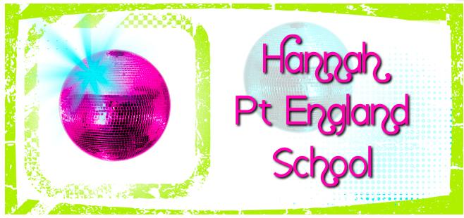 Hannah @ Pt England School
