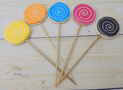 ciasteczka kolorowe