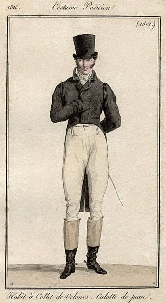 Costume Parisien 1816