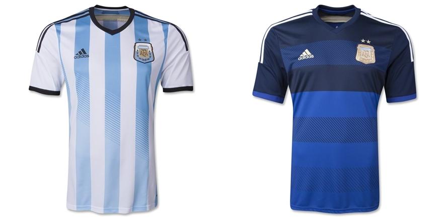 Argentina - Jersey Grade Ori Piala Dunia 2014
