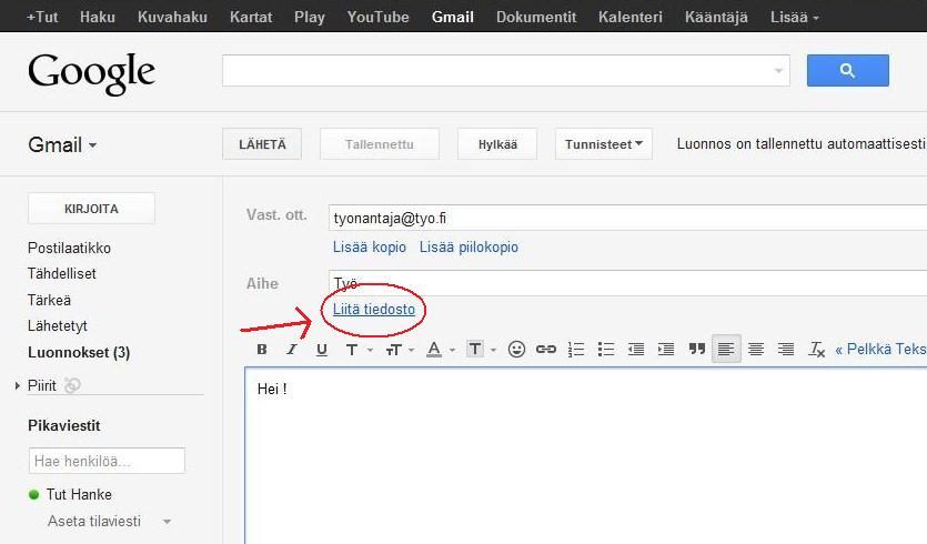 työhakemus kerro itsestäsi esimerkki Lappeenranta