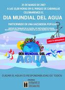 Dia Mundial del agua 25 Marzo