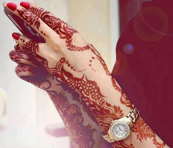 Mehndi Design Couple Hands : Beautiful latest simple arabic pakistani indian bridal