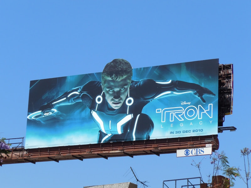 Tron Legacy Sam Flynn billboard