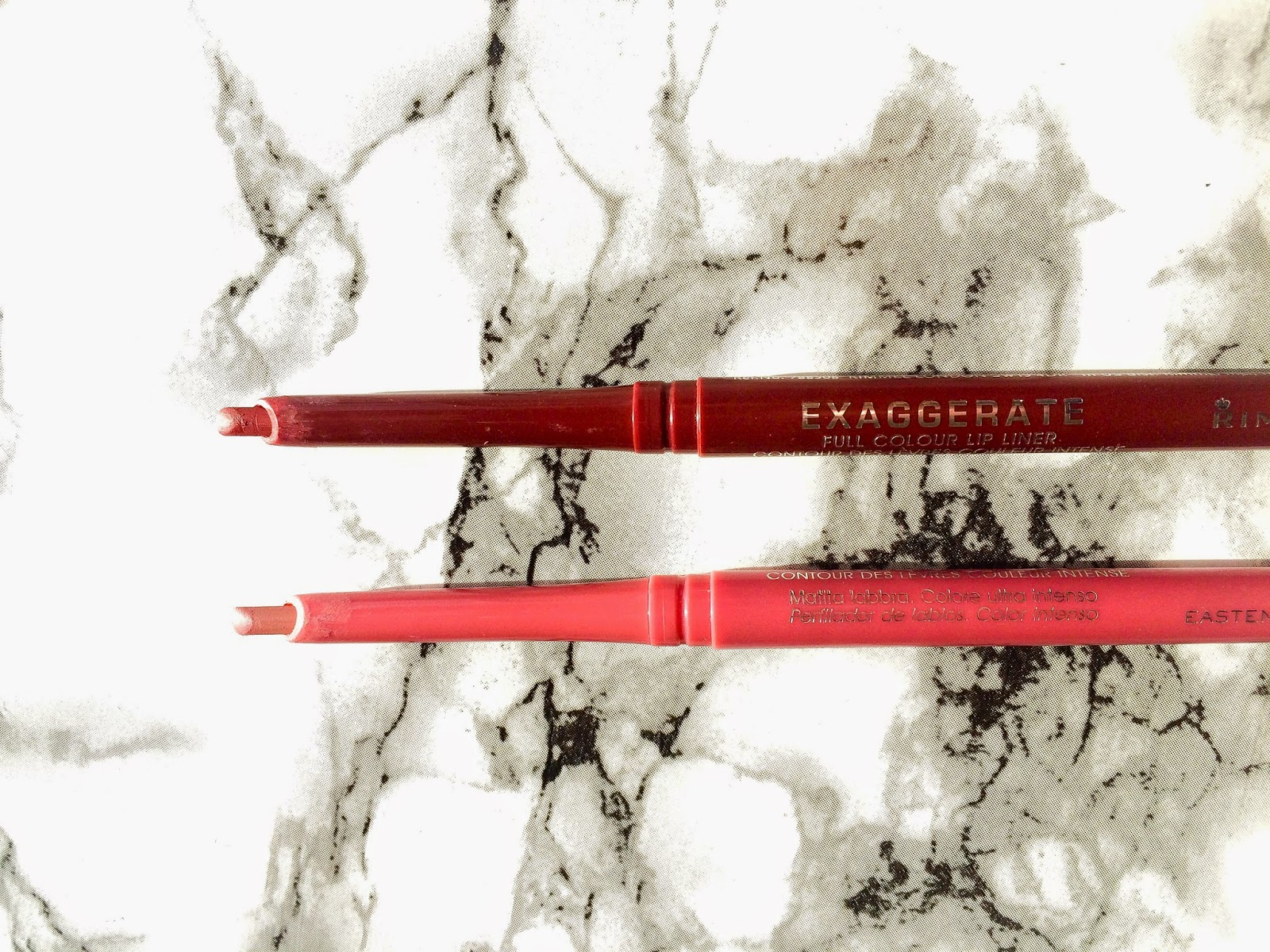 Rimmel Exaggerate Lip Liner in East End Snob & Obsession