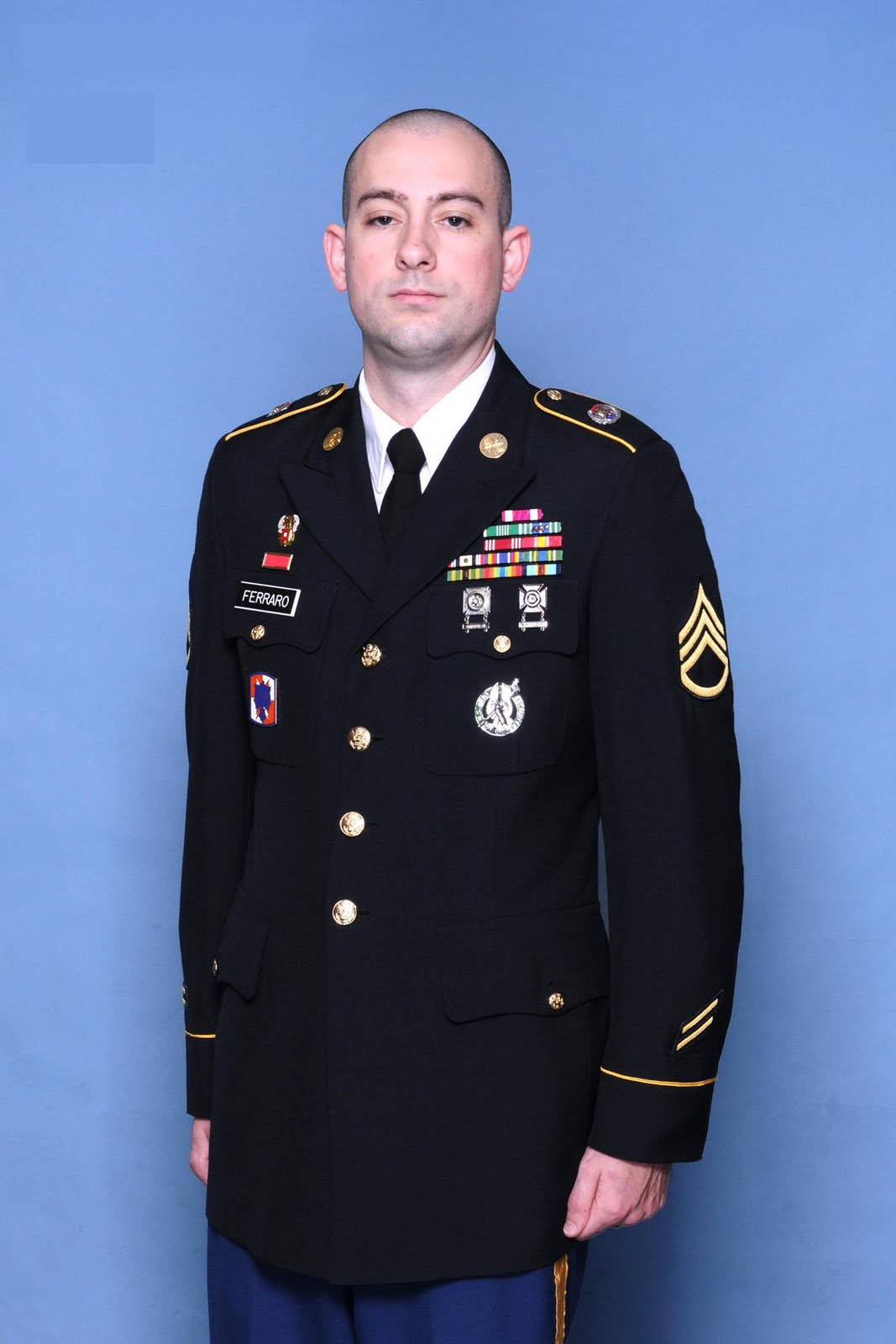 columbia recruiting battalion local sgt ferraro recommended for ssg ferraro