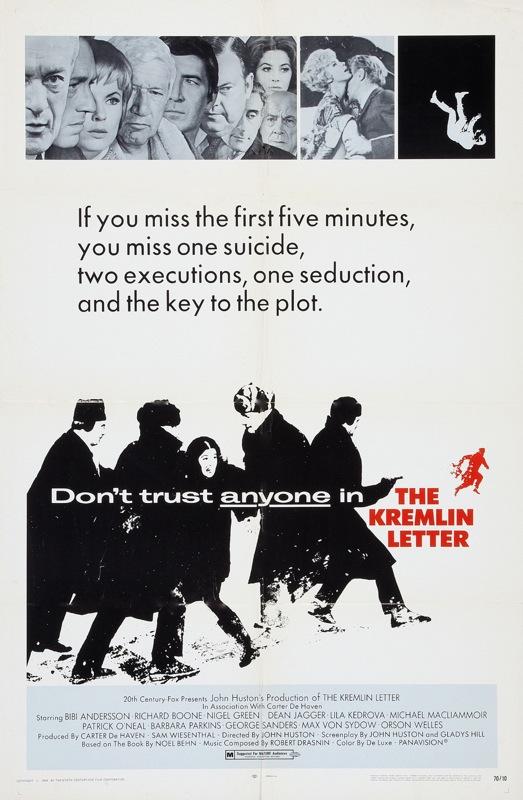 LA CARTA DEL KREMLIN (1970) John Huston   El último de la butaca