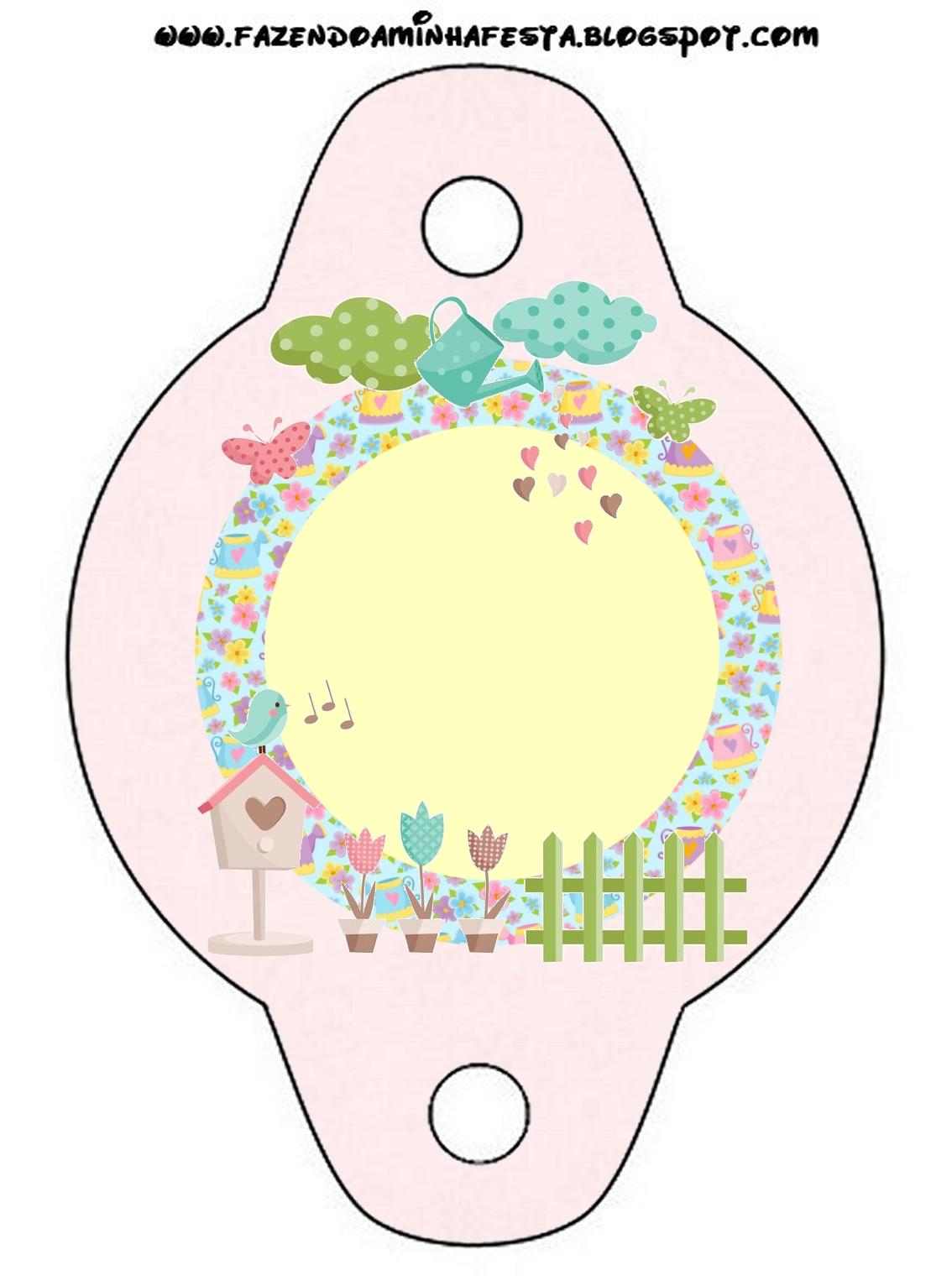 rotulos festa jardim encantado:Kit de festa Personalizado com tema Jardim Encantado – Dicas pra