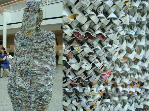 how to make a wearable shirt out of newspaper