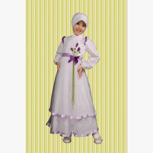 20 Baju Muslim Anak Perempuan Terkini