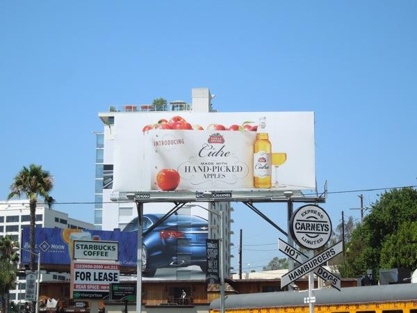 Stella Artois Cidre cider billboard