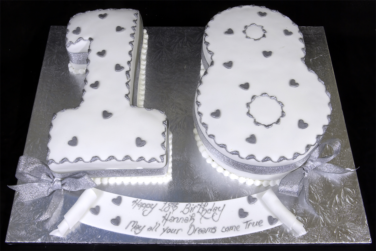Rosella 18th birthday ideas cakes for 18th cake decoration