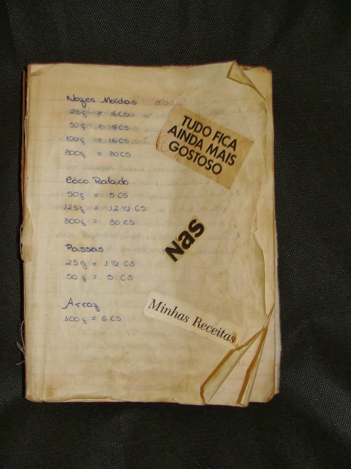 Meu caderno
