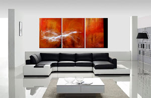 "Abstract Painting ""Searching for Answers"" by Dora Woodrum"
