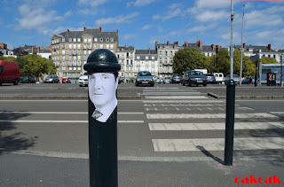 OakOak Street artist Saint-Étienne, France graffiti okokno - Design Art