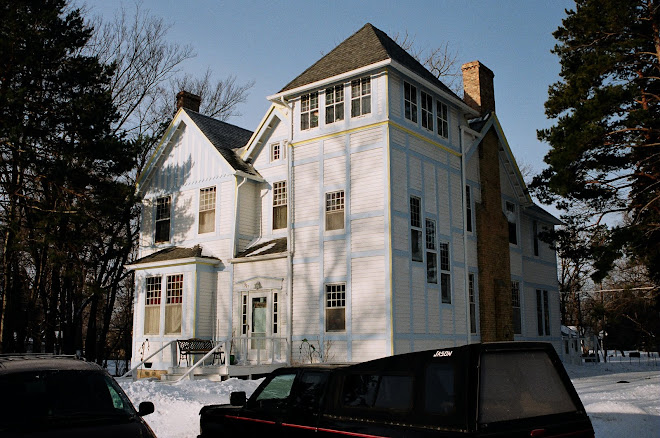 A house reminding of U.S. Civil War - morris mn