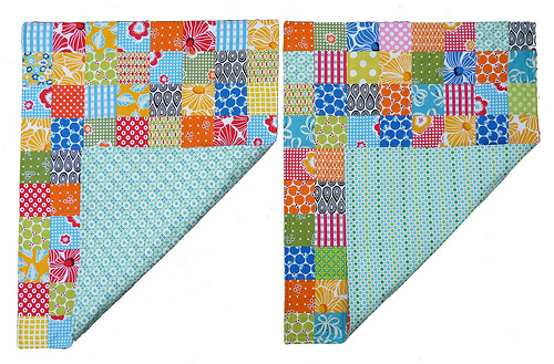 Red Pepper Quilts: A Quilt without Binding (Tutorial) : easiest way to bind a quilt - Adamdwight.com