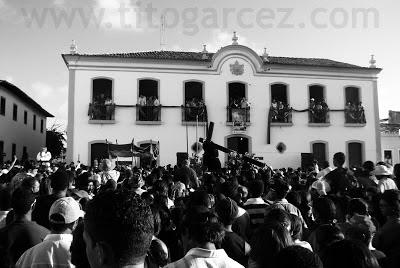 O momento do encontro acontece na Praça São Francisco, mais especificamente em frente ao Museu Histórico de Sergipe