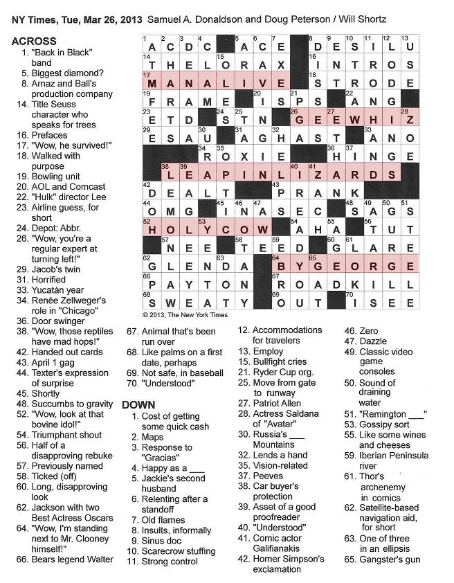 Crossword Puzzle Images - Frompo