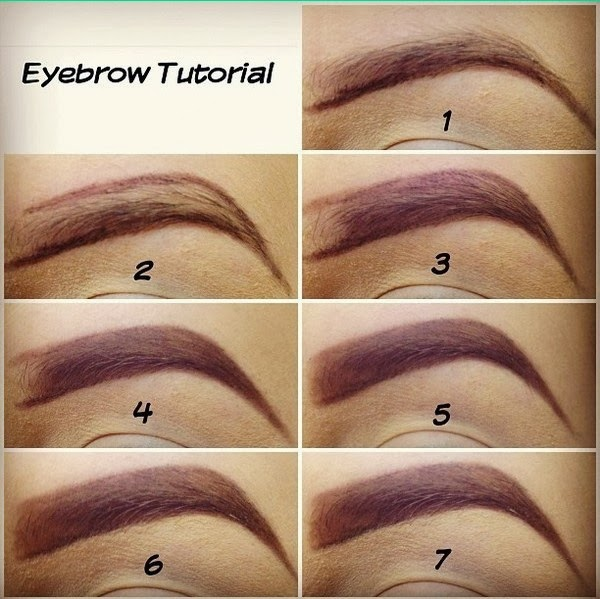 Welcome to Gloriana's Beauty Studio: Eyebrow Tutorial ...