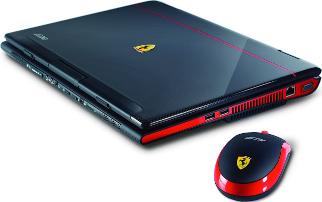 Acer Ferrari Notebook