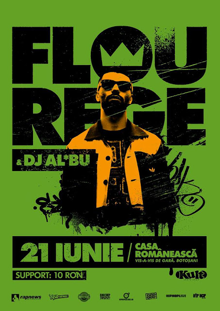 Concert: Flou Rege & DJ Al*Bu @ Botoşani – 21.06.2013