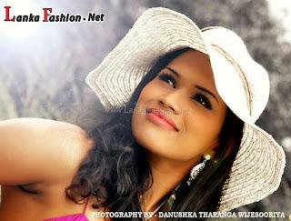 Sri Lankan upcoming model Ayesha madushani