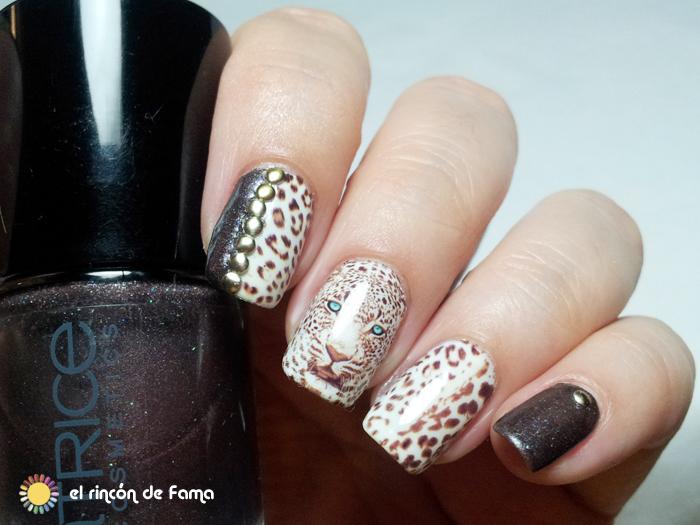 Leopard nails | el rincon de fama