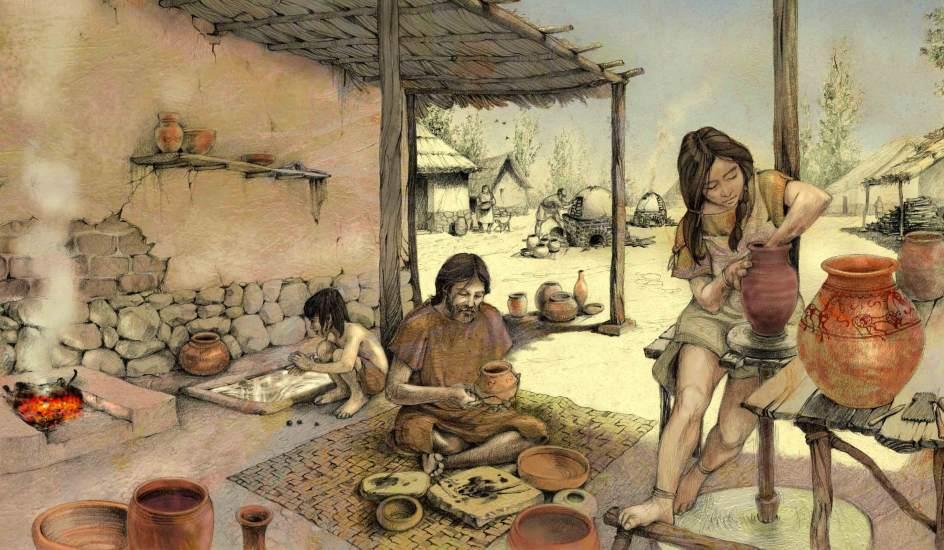 Aldea y Casa Neolíticas en Santorcaz (Madrid)