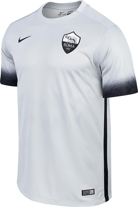 A modern crew-neck collar is used for the Nike Roma 15-16 Third Jersey 2bc90c63f