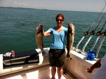 Lake erie walleye fishing reports starve island 5 21 for Odnr fishing report