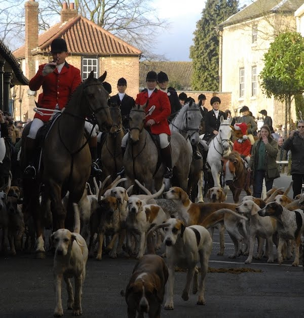 grove and rufford hunt boxing day meet