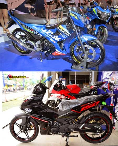perbandingan Jupiter MX King 150 vs Satria FU150