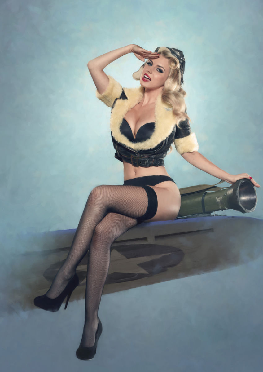 Simply Sexy army pin up girls