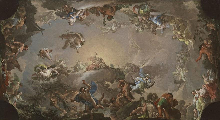 El Olimpo: Batalla entre dioses y gigantes