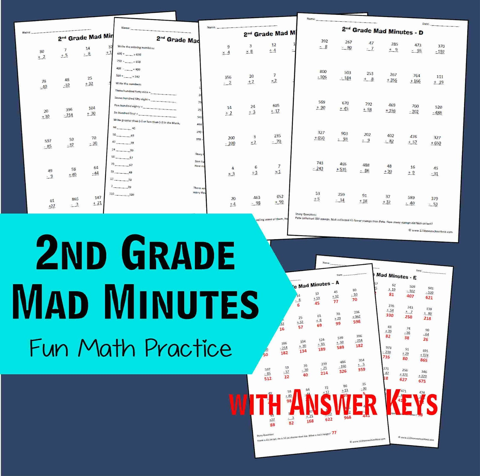 Math is Fun with these 5 Simple Tips – Mad Minute Math Worksheets Printable