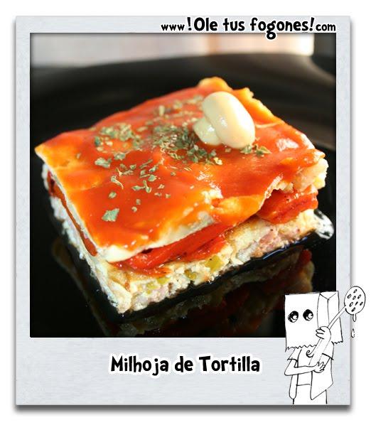 Milhoja de tortilla